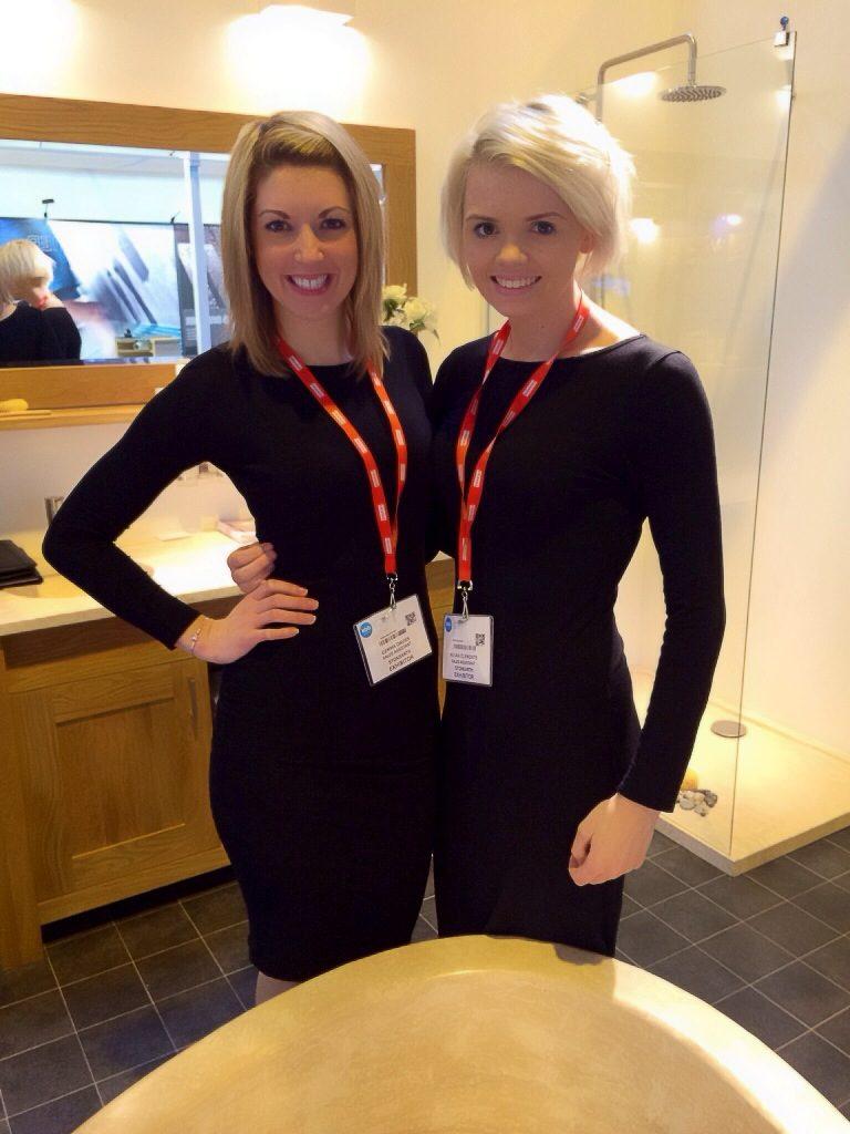 Kitchen & Bathroom Show NEC B2B Sales Staff